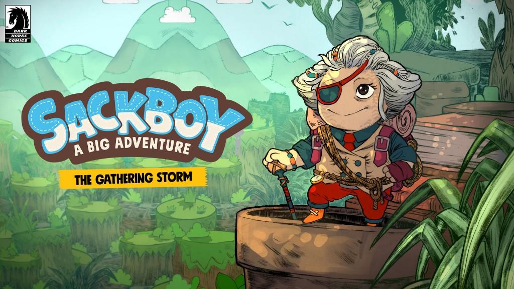 Sackboy: A Big Adventure The Gathering Storm Digital Comic Artwork.