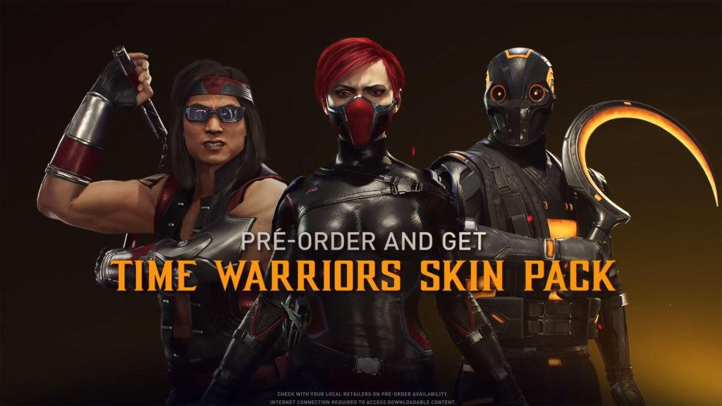 Pre-Order Bonus -Time Warrior Sking Pack