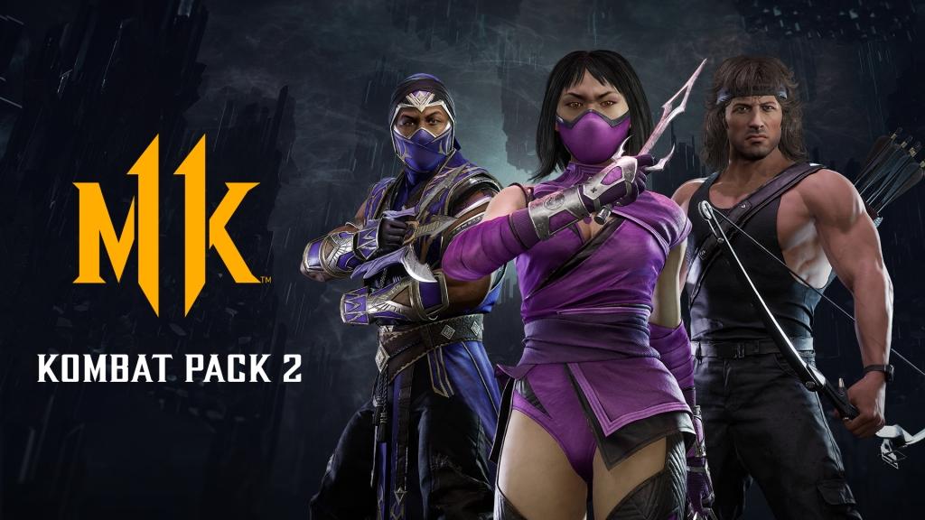 Kombat Pack 2 - Rain, Mileena and Rambo