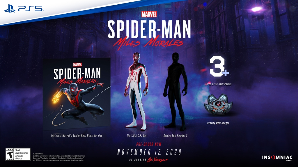 Spider-Man: Miles Morales Standard Edition Pre-Order information
